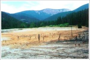 Block P Superfund Site MT - Tailings Cap Before