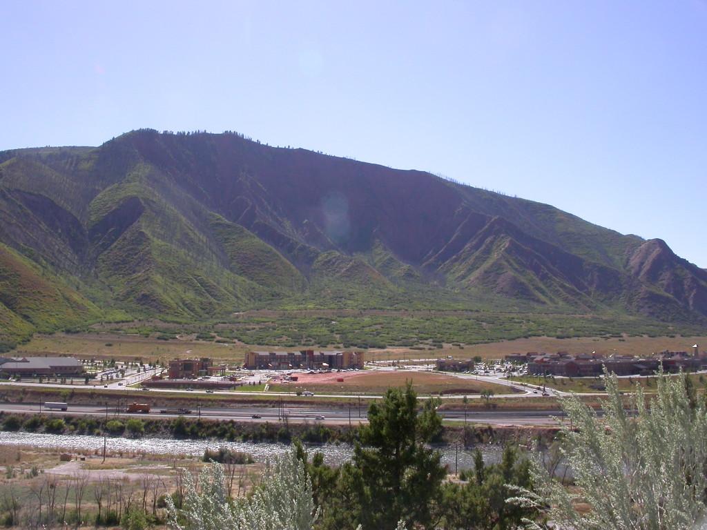 Same Mountainside 8 years later. Glenwood Springs, CO