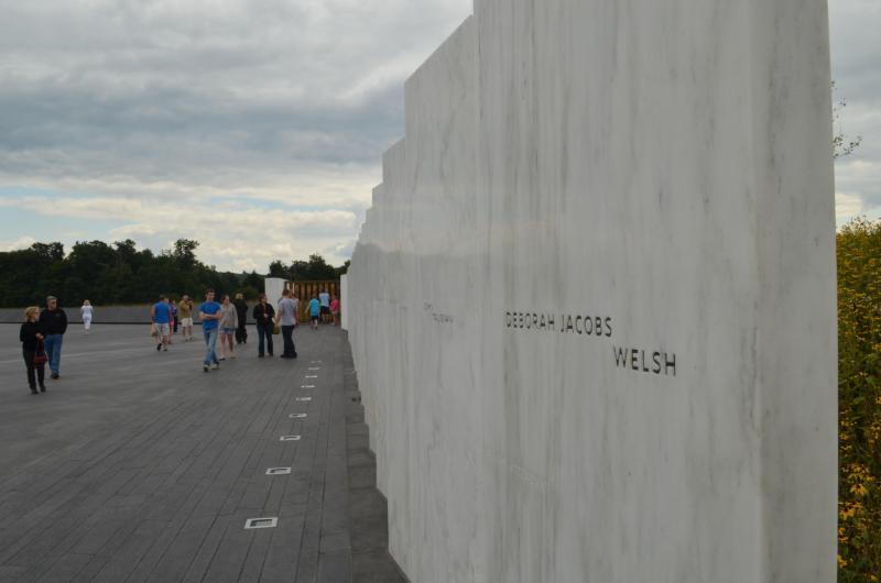 FLT 93 Memorial Park Wall of Names