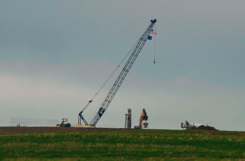 Visitors Center Construction May 28, 2014